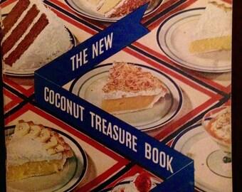 Vintage cookbook 1934 Baker's Coconut
