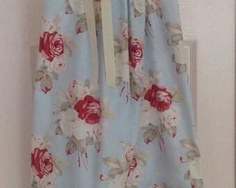 Blue Cottage Rose Dress by Cheryl's Bowtique / 2015 Cottage Collection