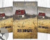 "Premade Digital Book eBook Cover Design ""Homespun"" Literary Fiction Thriller Suspense Memoir"