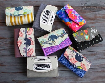 Design Your Own Necessary Clutch Wallet (NCW) Mini or Full Size