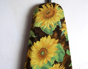 Ironing Board Cover - large yellow sunflowers bright and cheery