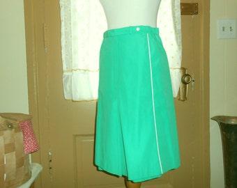 Culottes Summer Skirt Womens Skirts Skort Golf Skort Golf Skirt 70s Skirt Womens Culottes Vintage Skirt Womens Vintage Clothing