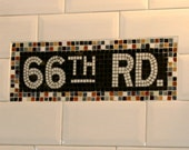 NYC Subway Styled Mosaic Install for Bathroom  /  Kitchen  /  Backsplash