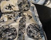 Beautiful Vintage Silk Robe