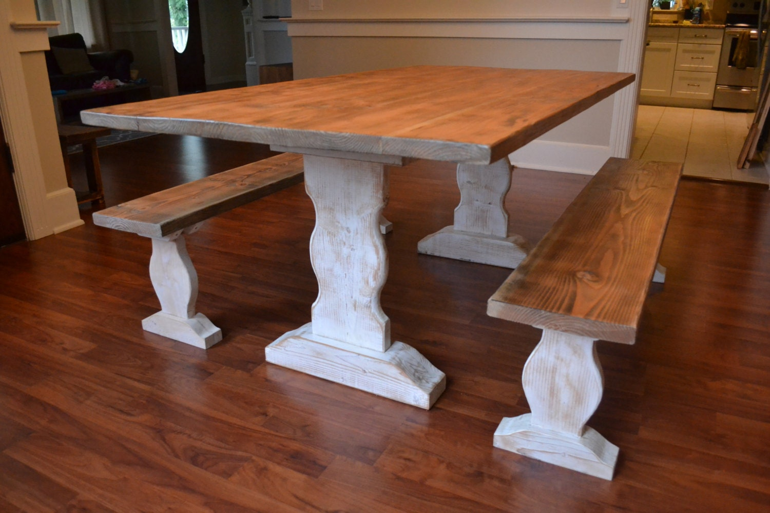 Farm Table Reclaimed Wood Dining Table Dining Table And