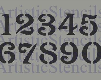 Roman Numerals Stencil Set Of 3 5 Inch Etsy