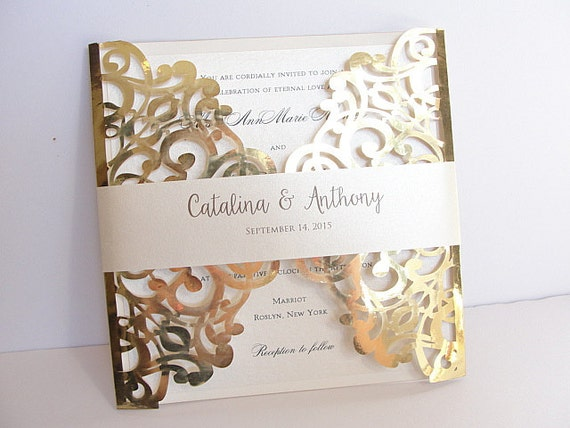 Foil Wedding Invitations also Top  pilation Of Gold Foil Wedding Invitations THERUNTIME moreover Laser Cut Wedding Invitation Gold Foil Wedding Invite Lace in addition Gold Foil Wedding Invitations moreover Kate Cleon s Romantic Rose Gold Foil Wedding Invitations in addition Gold Foil Wedding Invitations marialonghi further Carley John s Gold Foil and Calligraphy Wedding Invitations furthermore affordable traditional gold foil floral wedding invitation EWFI014 also Foil Wedding Invitations further Floral and Gold Foil Wedding Invitations moreover Gold Foil Wedding invitation Gatsby Wedding Invitation Art. on gold foil wedding invitations