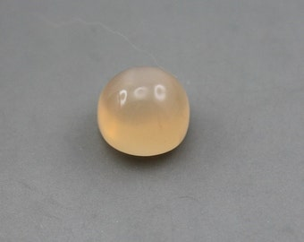 Light Peach natural Moonstone Cabochon
