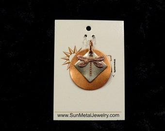 I love copper dragonflies pendant (Style #1459)