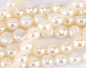 6mm Two-hole Pearls