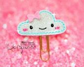 HAPPY CLOUD Glitter Planner Paperclip