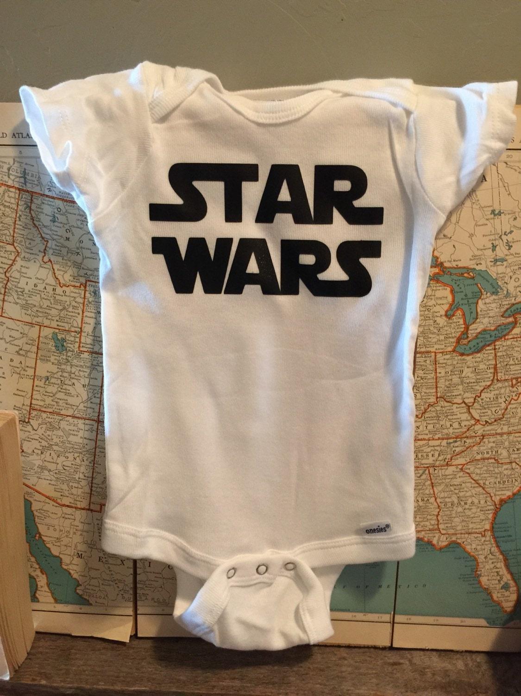 star wars onesie. star wars movie. baby. onesie. by duvdesigns
