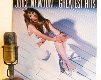 """ON SALE Juice Newton Vinyl Record Album LP Vintage 1980s Pop Country Soft Rock and Roll """"Greatest Hits"""" (1984 Capitol w/""""Angel Of The Mornin"""