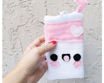 Milk Phone Case - Samsung Galaxy or iPhone Case, Smartphone Cozy, Phone Case, Kawaii