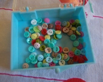 miniature doll clothes buttons