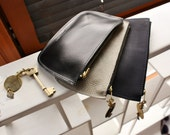 Leather Purse and evening clutch.