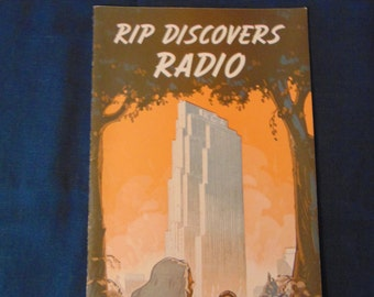 """Vintage RCA's """"Rip Discovers Radio"""" Booklet"""