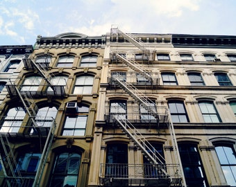 Lower East Side Photography Print, New York City Print, NYC Buildings Photography, Manhattan Print