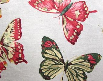 MENTON PERSIMMON home decor bedding drapery print multipurpose fabric