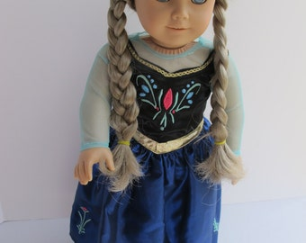 Happy Swiss Day Outfit For 18 Inch Dolls