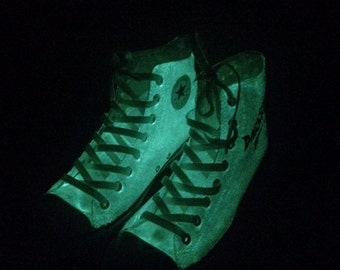 Glow in the Dark Converse Halloween Shoes