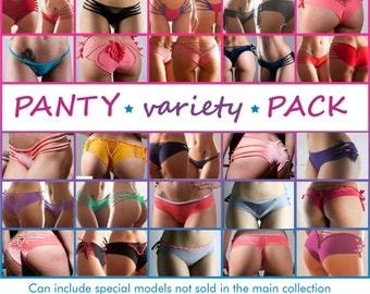 Variety Pack - 5 panties 30 to 50% off