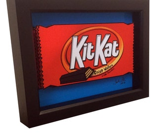 Kitkat Candy Art 3D Pop Art Candy Artwork Choclate Print