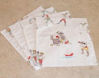 Cloth Wipes- Pirates- Set of 15- 15010