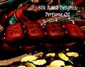 SILK ROAD DELIGHTS Perfume Oil -  Eastern Sandalwood, Frankincense, Myrrh, Spices - Marco Polo