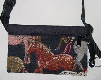 Horse and Rider Equestrian Travel-Lite Hip Pack,Equestrian Handbag,Horse Fanny Pack