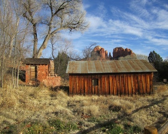 Abandoned Old Barn Picture, Abandoned Places Photography, Fine Art Photograph 8x10, Picture, Home Decor