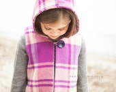 Pixie Hooded Vest - PDF Pattern - NB to size 10