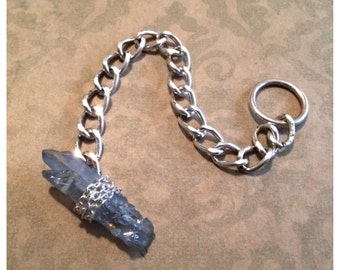 Crystal toggle bracelet