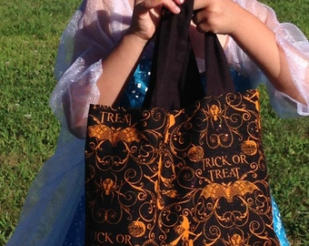 Trick or Treat Bag Witches Bats n' Spiders
