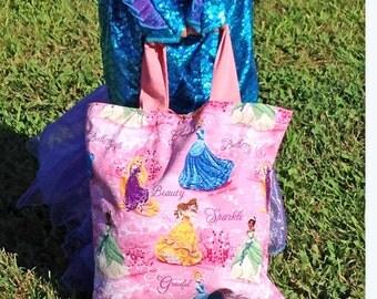 LAST ONE Disney Princess Childrens Tote/Trick or Treat Bag