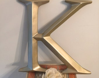 Wall Decor, Large Letter Decor, Wedding Decor, PICK YOur LETtEr and YouR COLor - A- Z