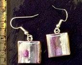 January Sale 2016  - papier-mâché - earrings