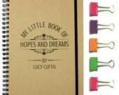 Hopes & Dreams Personalised Notebook