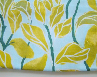 Climbing Vines Fabric Blue, Poppy Collection Fabric, Laura Gunn for Michael Miller, OOP