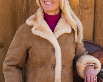 Ladies Sheepskin Columbine Jacket