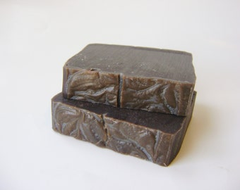 Unscented Soap with Cocoa, Handmade Cold Process Soap, All Natural Soap, Sensitive Skin Soap bar soap
