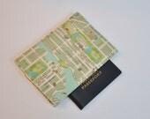 Passport Cover Passport Holder Sleeve New York City Map Street map Upper East Side