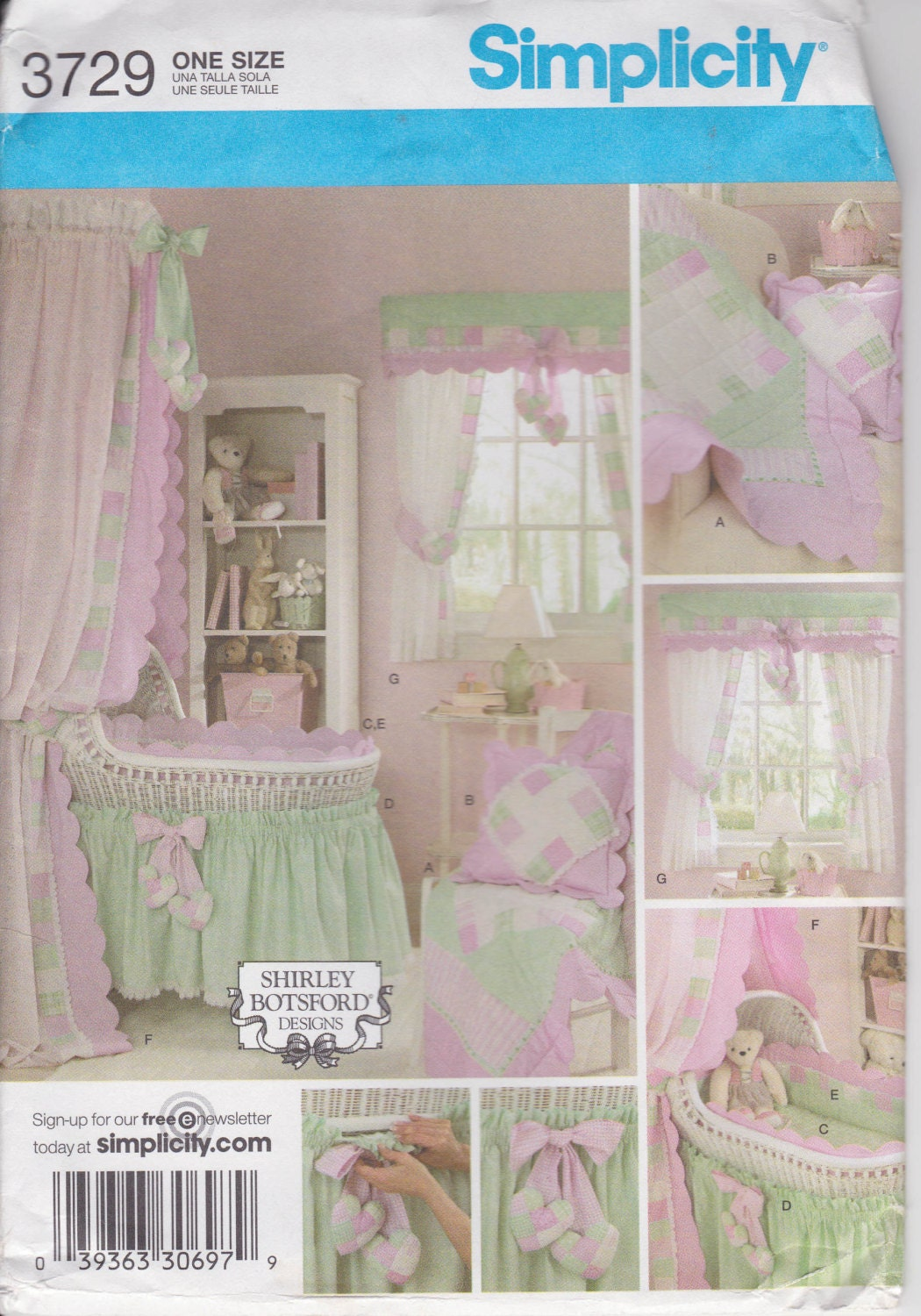 Bassinet Skirt Pattern 98