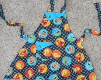 Sesame Street Polka Dot Girl's Apron