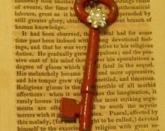 French Skeleton Key Necklace