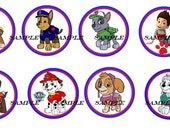 8 set  Puppy Paw Patrol kids boys girls baby  Dresser Drawer Knobs mtm bedding