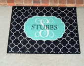 Personalized Door Mat Monogram Welcome Mat Monogrammed Door Mat Custom Doormat Gift for the Couple Hostess Gift
