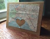 I love Tallahasee FL - 1 blank greeting card