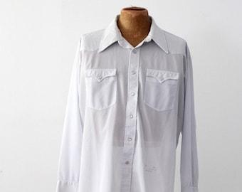 vintage H Bar C western shirt
