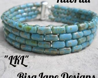 """RisaJane Designs Tutorial """"LKL"""""""